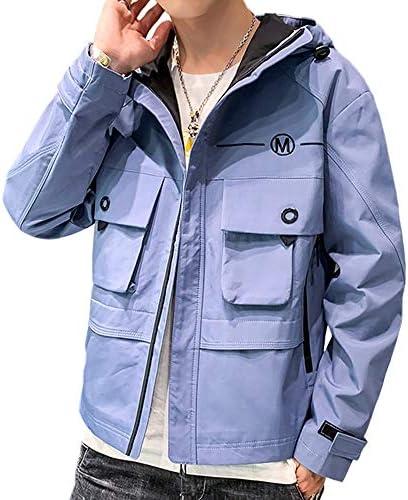 ジャケット パーカー メンズ 秋冬 フード付き コート 防風防寒 おしゃれ