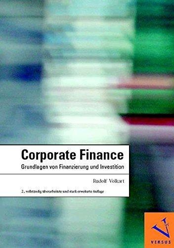 Corporate Finance: Grundlagen von Finanzierung und Investition Gebundenes Buch – Oktober 2006 Rudolf Volkart Versus 3039090461 MAK_new_usd__9783039090464