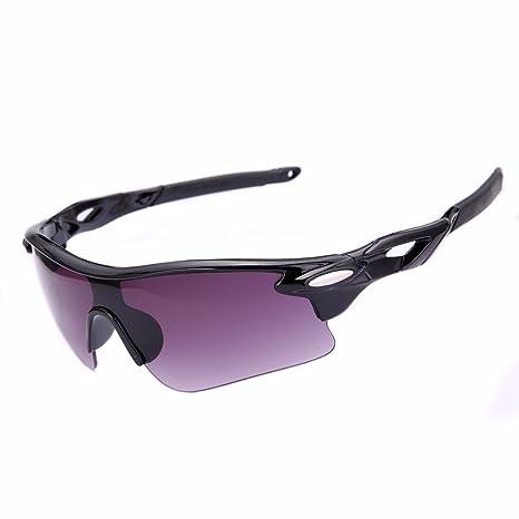 Gafas de sol para deportes al aire libre, ciclismo, bicicleta, pesca, conducción, gafas de sol (gris)