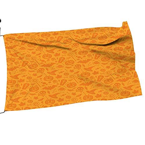 painting-home Garden Flag American Traditi al Halloween Themed Objects Celebrati Day Orange Season Garden Flags 26