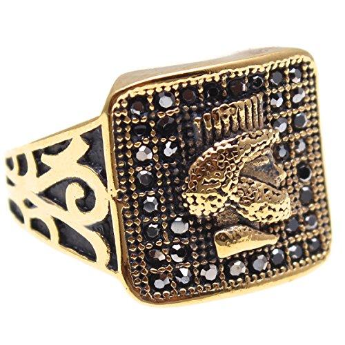 (Asoodehdelan Gold Pt Cyrus The Great Iranian Persian King Ring Iran Persia Gift Art (10))