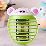 Creativity Insect Killer Lamp,Mini Multifunction Household Photocatalyst Mosquito Lamp, LED Electronic Indoor Insect Killer, Bug Zapper, Socket, Environmental Protection Mosquito Killer Lamp (1pcs)