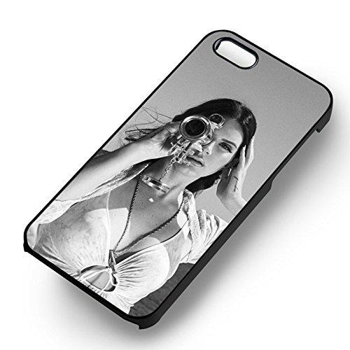 Lana del ReyHigh by The Beach BW pour Coque Iphone 6 et Coque Iphone 6s Case (Noir Boîtier en plastique dur) R5K7FY