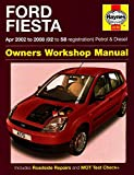 Ford Fiesta Owners Workshop Manual: 2002 to 2008 (Haynes Service and Repair Manuals) by R. M. Jex (12-Sep-2014) Hardcover