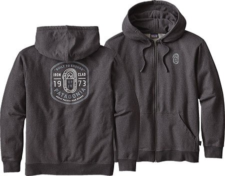 Patagonia Ironmongers Badge MW Full-Zip Hood Men schwarz