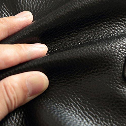 MERRYHE Véritable Porte-documents En Cuir Pour Les Hommes Grands Sacs à Main D'épaule De Messager Avec La Bandoulière Réglable 14