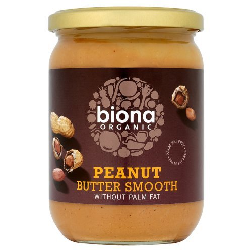 Biona Organic Smooth Peanut Butter 500 g 42386