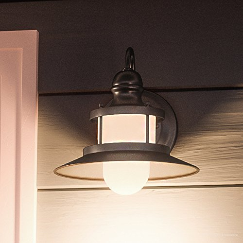 Luxury Nautical Outdoor Wall Light, Small Size: 9.5