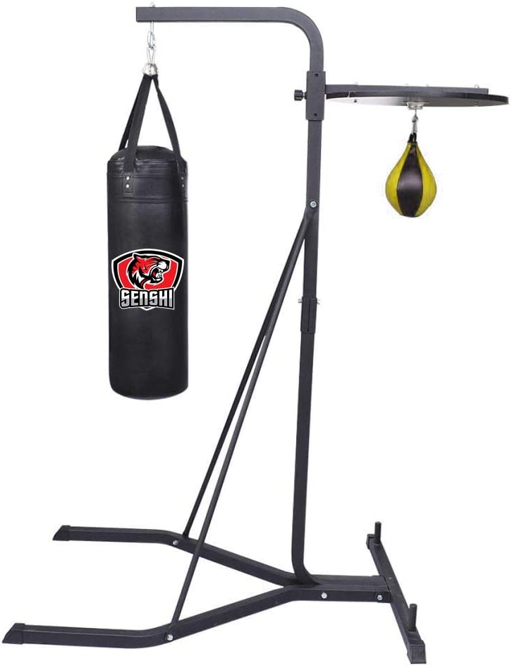 Senshi Japan Speed Ball And Punch Bag Stand Freestanding Punch Bag Speedball Frame Stand With Free Speed ball and Punch Bag
