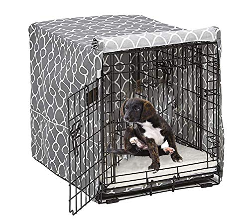 Morezi Dog Crate Cover for Wire Crates, Fits Most 36