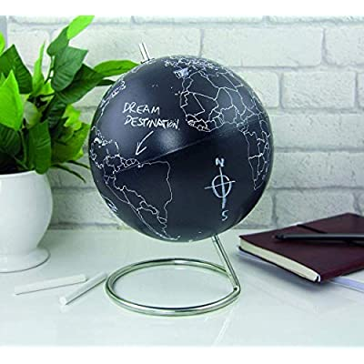Paladone Chalkboard World Globe - Globe of the Earth with Chalkboard Finish: Toys & Games