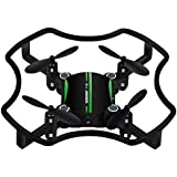 HP95(TM) F19 Mini Drone Quadcopter Aititude Hold Smart Voice 2.4G 4CH 6AXIS RC Helicopter (Green)