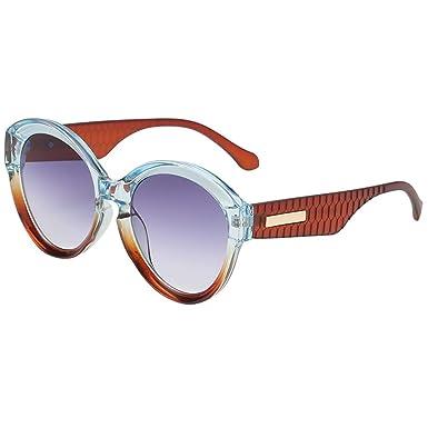 fazry Gafas de sol grandes, estilo vintage, estilo retro ...