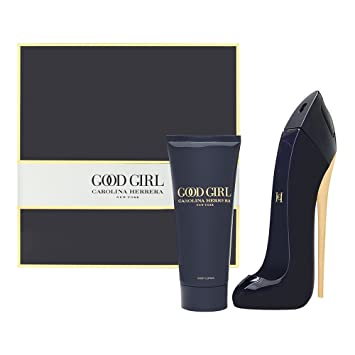 0e9db8afed Amazon.com: Good Girl by Carolina Herrera for Women 2 Piece Set Includes:  2.7 oz Eau de Parfum Spray + 3.4 oz Body Lotion: Beauty