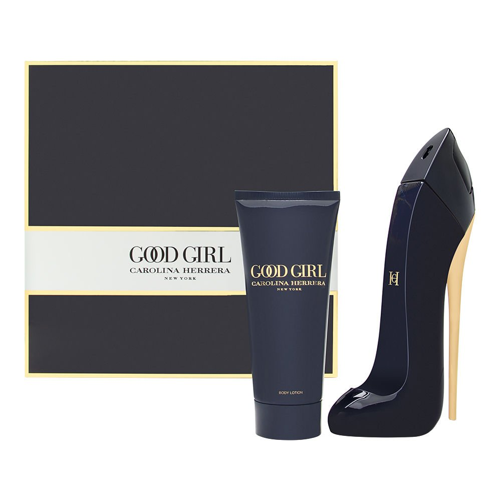 Good Girl by Carolina Herrera for Women 2 Piece Set Includes: 2.7 oz Eau de Parfum Spray + 3.4 oz Body Lotion