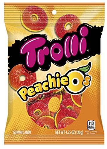 Peachie O's Sour Gummy Candy