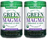 Green Magma 2 Pack Organic and Raw Powder