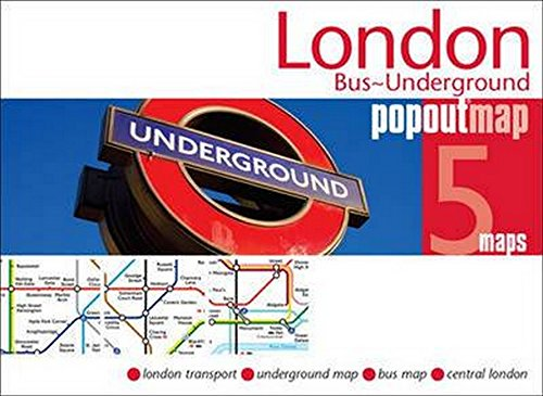 London Bus and Underground PopOut Map (PopOut - Of Underground Map London