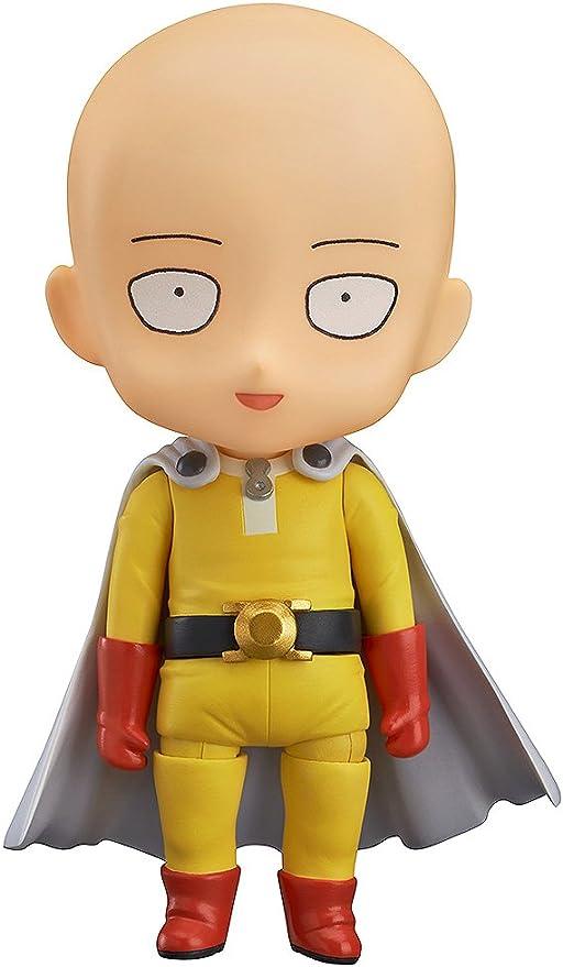 Anime One Punch Man Hero Saitama 10cm Nendoroid Series PVC Figure Toy