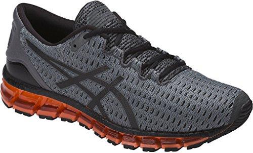 ASICS Men's Gel-Quantum 360 Shift Running Shoe, Carbon/Black/Hot Orange, 8.5 Medium - Carbon Shift