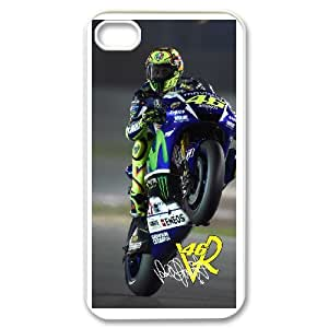 Creative Phone Case Valentino Rossi For iPhone 4,4S X567427