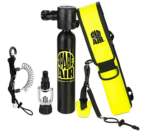 Submersible Systems (Submersible System Spare Air Model 300 Package Kit 3.0 cu ft w/Coil Lanyard)