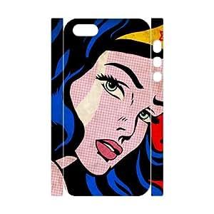 DIY 3D Phone Case YU-TH93169 for Iphone 5,5S w/ Wonder woman by Yu-TiHu(R)