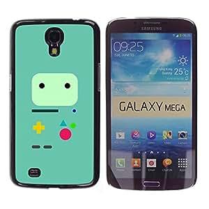 GIFT CHOICE / SmartPhone Carcasa Teléfono móvil Funda de protección Duro Caso Case para Samsung Galaxy Mega 6.3 /Minimalist Gaming Controller/
