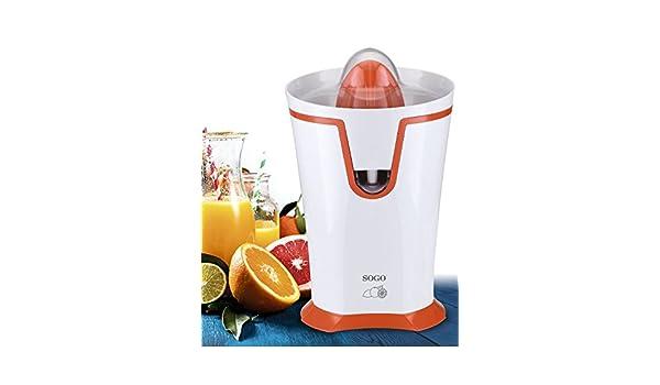 SOGO - Exprimidor de Zumo cítrico, 40W, EXP-SS-5130, Color Blanco y Naranja: Amazon.es