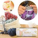 Ergonomic Crochet Hooks Set with Case, BCMRUN
