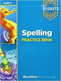 Book Treasures: A Reading/Language Arts Program, Grade 2, Spelling Practice Book