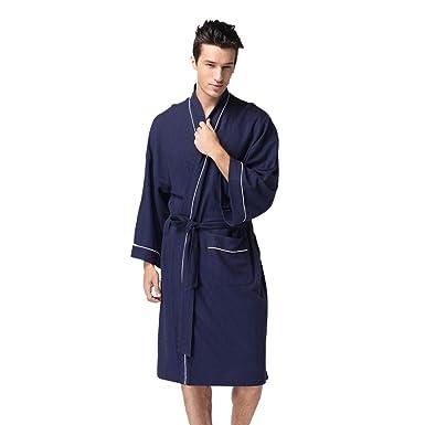 Bata De Vestir TúNica Pijamas para Lover, Naturazy Albornoz Kimonos SatéN Lujoso LenceríA, Suave, Comodo Y Agradable De Las SeñOras Y Hombre: Amazon.es: ...