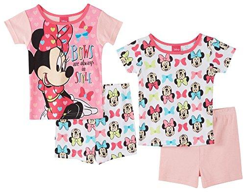 Minnie Mouse Girls Pajamas Toddler