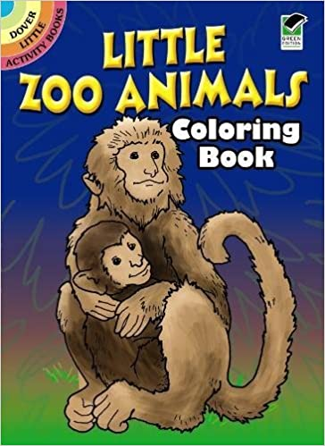 Little Zoo Animals Coloring Book Dover Activity Books Roberta Collier 9780486264035 Amazon