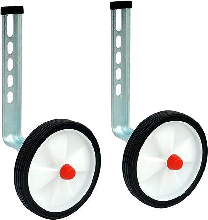 Little World Training Wheels Heavy Duty Rear Wheel Bicycle Stabilizers Mounte...