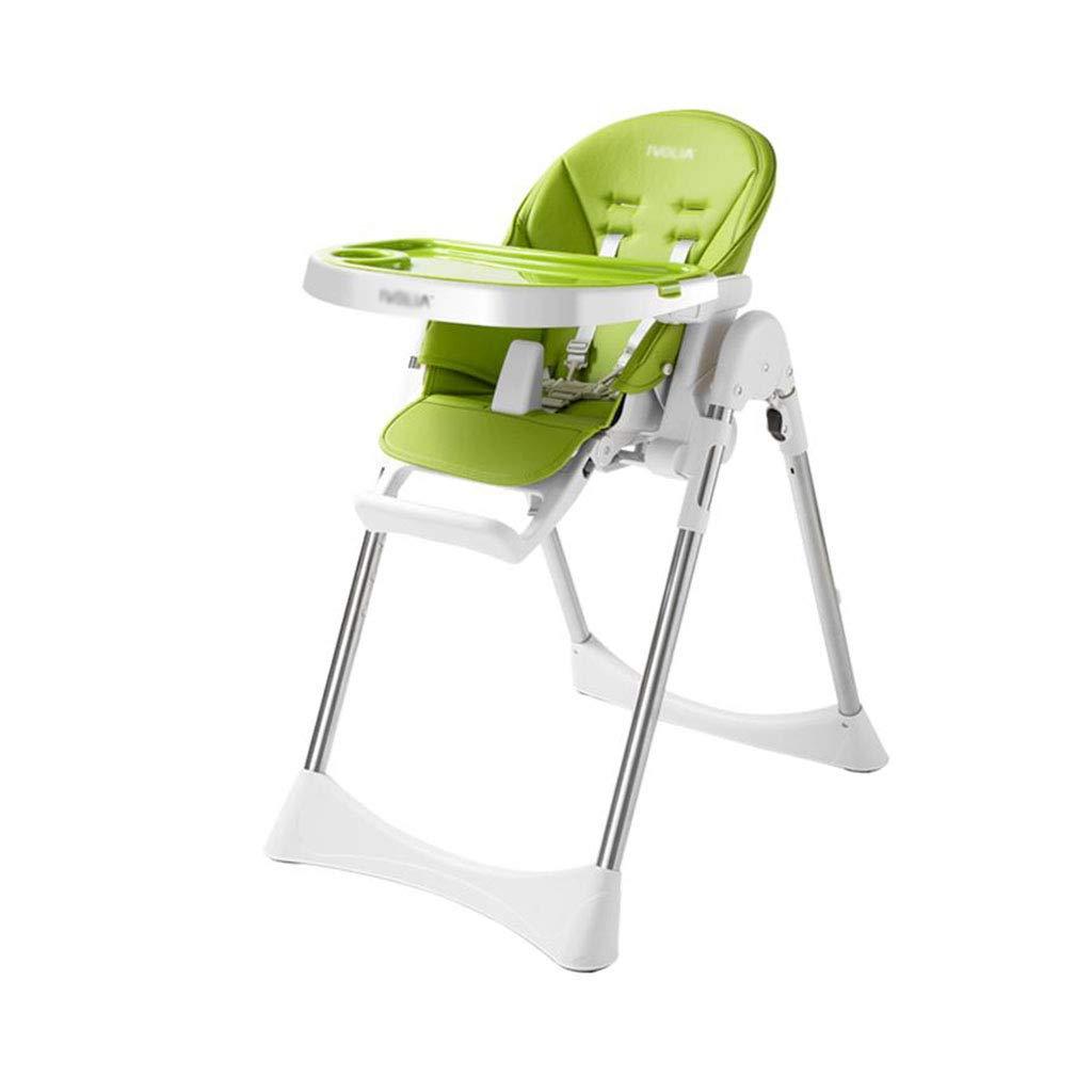 折り畳み式のハイチェアの赤ん坊の供給の椅子の調節可能なリクライニングブースター   B07MMBHFH3