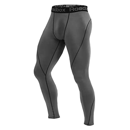 Kompressionshose Sports Leggings Running Tights Atmungsaktiv Sporthose M/änner Fitnesshose f/ür Laufen Yoga Gym Radfahren MEETYOO Laufhose Herren 3//4