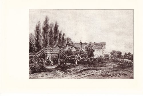 old-georgian-mill-near-danbury-in-essex-with-a-quaint-footbridge-of-timber-1908-vintage-print