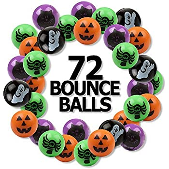 96 Mini Halloween Magic Springs; Perfect for Trick or Treat; Classroom Giveaways; Party Favors; Fun Express 8 Dozen