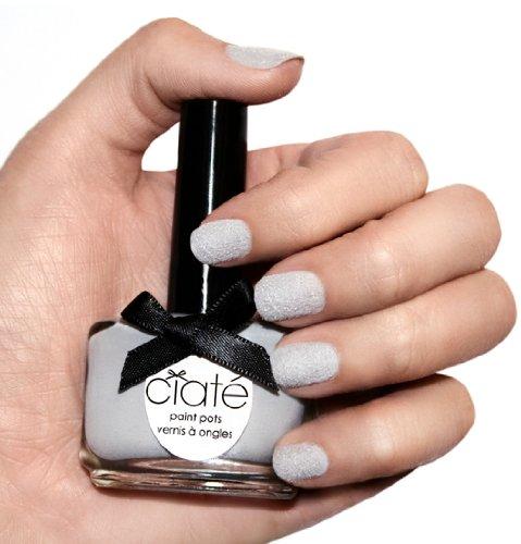 Ciaté Manicura Velvet gris plata