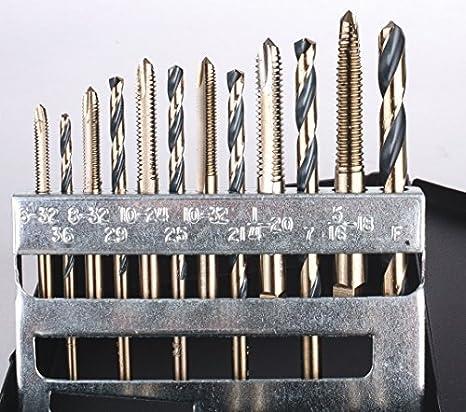 1//2-20 Viking Drill and Tool 46212 Type 24-UBN Straight Flute Plug Style Mag Super Prem Tap Bit