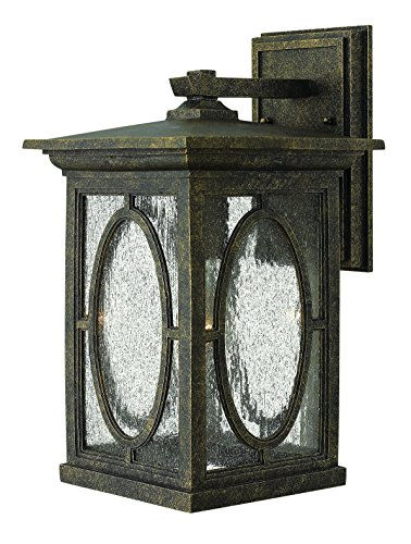 Hinkley 1494AM-LED Transitional One Light Wall Mount from Randolph collection in Bronze/Darkfinish,