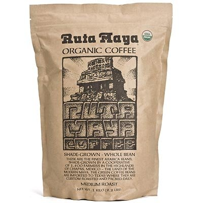 Ruta Maya® Organic Medium Roast Whole Bean Coffee 2 Count - 2.2 Lbs. Each