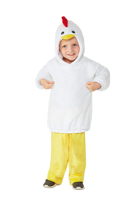 Smiffys 47711T1 - Disfraz infantil de pollo, unisex, para niños ...