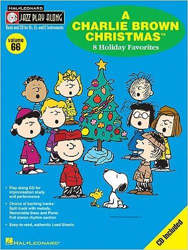 A Charlie Brown Christmas Play.A Charlie Brown Christmas Jazz Play Along Volume 66 Hal