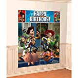 Amscan Disney 'Toy Story' Scene Setters Wall Decoration Kit, Birthday
