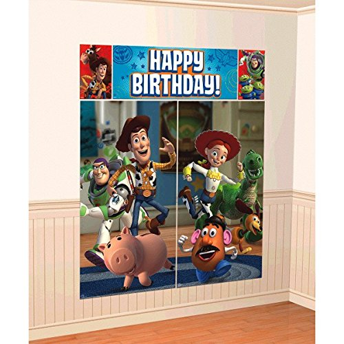 American Greetings Toy Story 3 Wall Decorations (Slinky Dog Toy Story Costume)