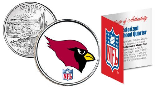 ARIZONA CARDINALS NFL Arizona U.S. State Quarter U.S. Coin *Officially Licensed*