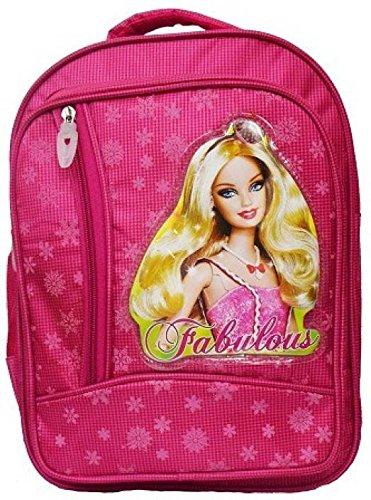 Tinytot Synthetic Baby Doll Waterproof School Bag  Pink, 15 Inch