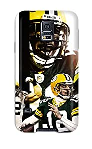 New Premium Flip Case Cover Greenay Packers Skin Case For Galaxy S5